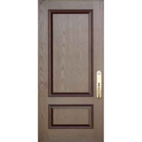 Oak Grain 2 Panel Embossed Doors