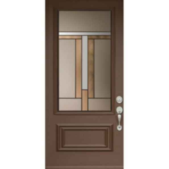 Smooth Executive Raised 2 Panel Doors