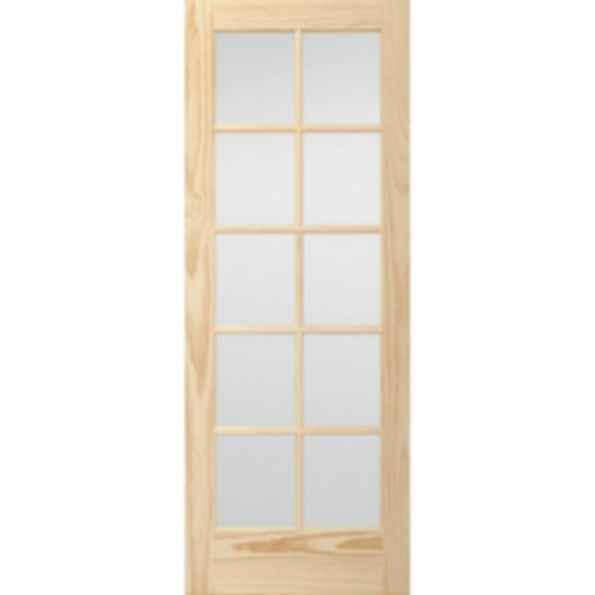 Glass French 10 Lite TDL Doors