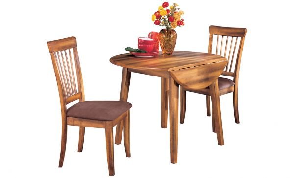 Berringer round drm drop leaf table for Spl table 99 00