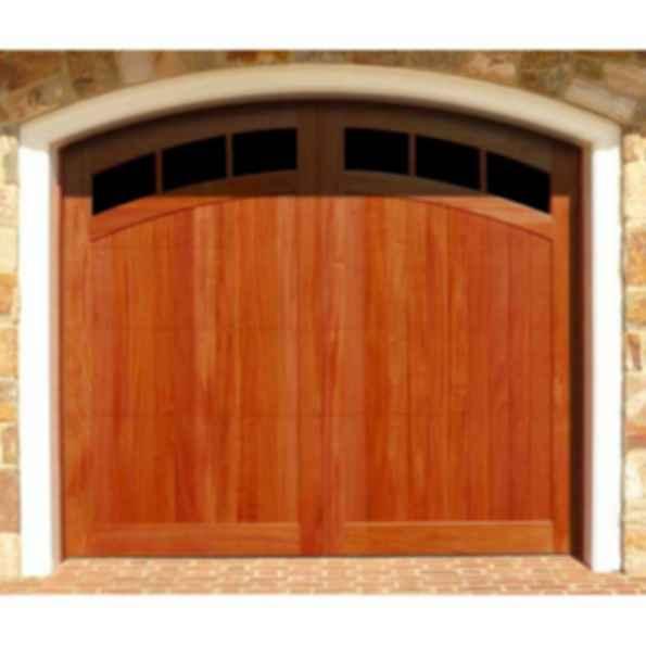 Medallion wood garage door for Composite garage doors that look like wood