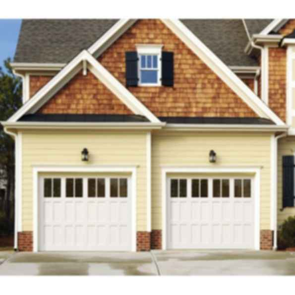 Avalon Wood Stile and Rail Carriage Garage Door