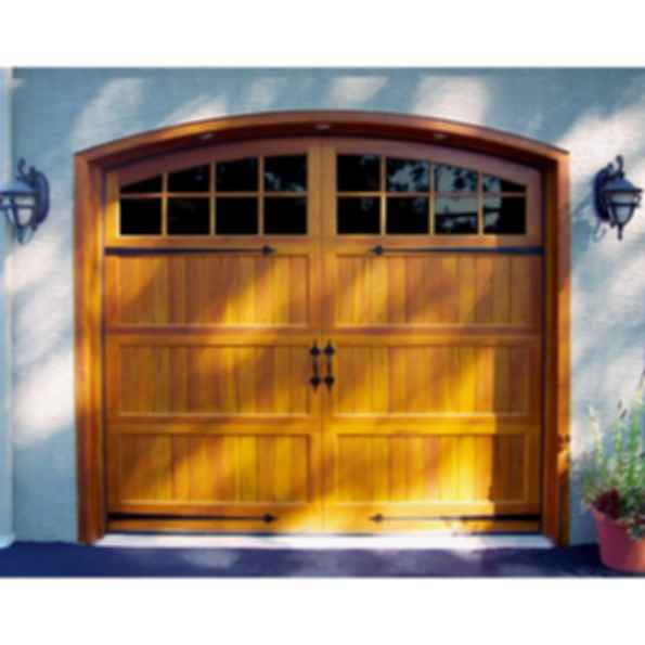 Sheffield Stile and Rail Carriage House Garage Door