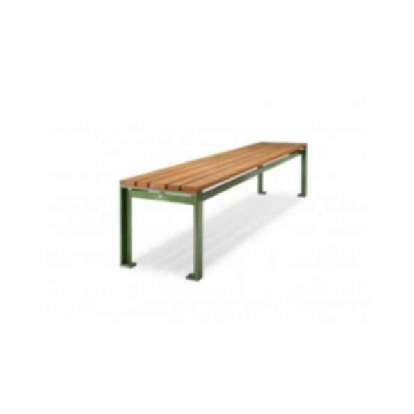 Camille Backless Benches