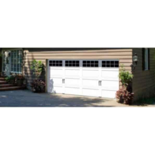 Premium Value Stamped Steel Garage Door