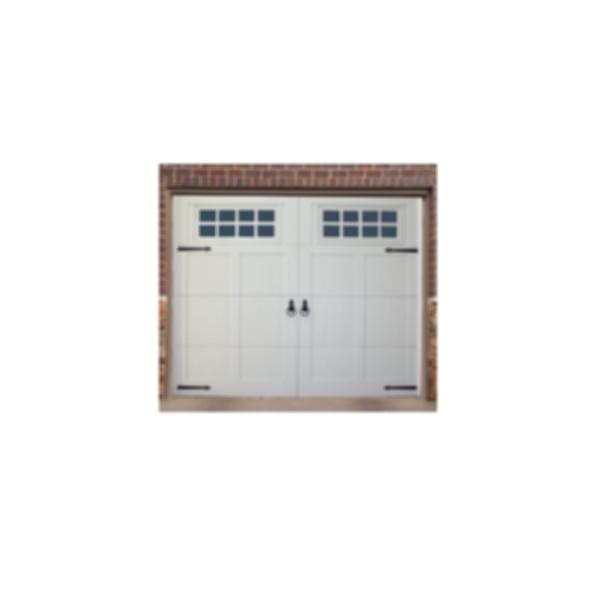 Smooth & V-Groove Overlay Garage Door