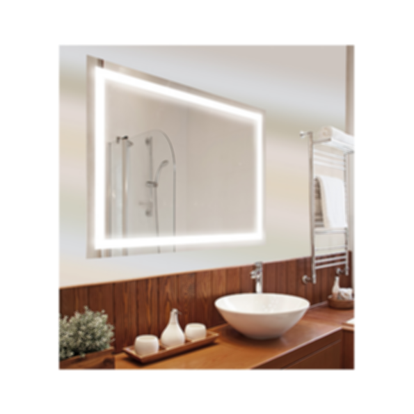 Edison M13 LED Frameless Backlit Mirror