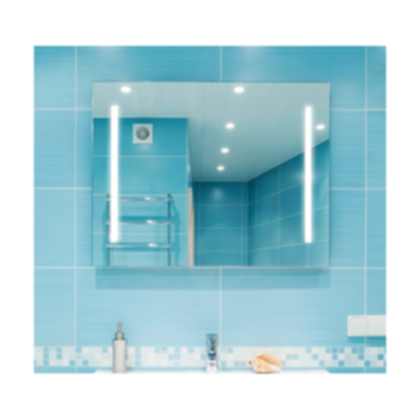 Catella M09 LED Backlit Mirror with Two Strips