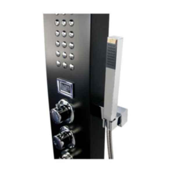 Aluminum Alloy Black Shower Panel