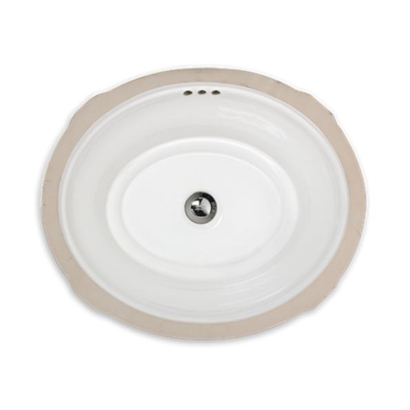 Estate Oval Undercounter Bathroom Sink Modlarcom - Under counter bathroom sinks
