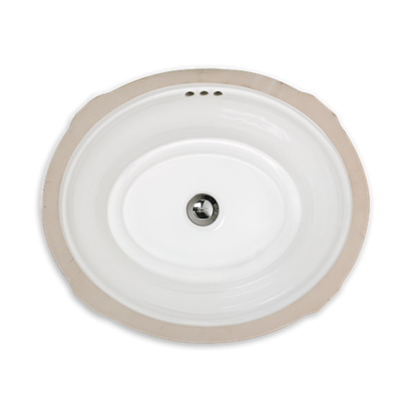 Estate Oval Undercounter Bathroom Sink - modlar.com