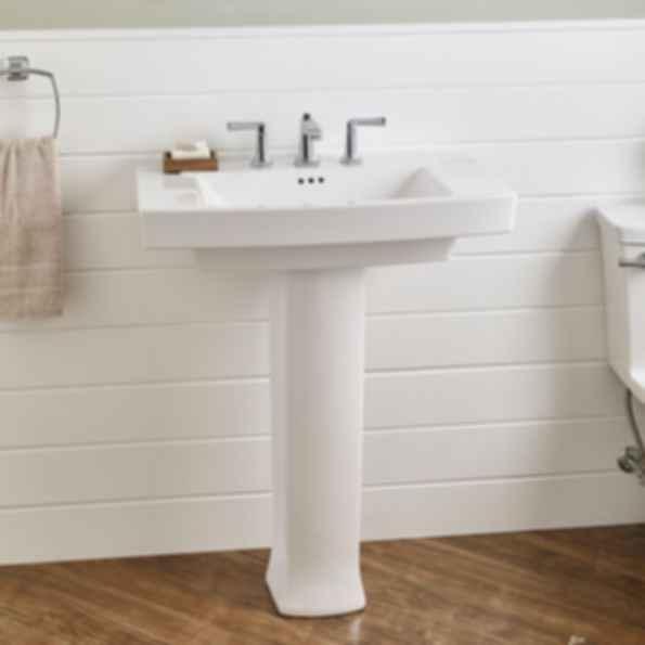 Townsend Pedestal Sink With 8 Inch Centers Modlar Com