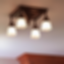 "Golden Gate™ Four Light Chain Link Ceiling Fixture with 2-1/4"" Shade Holders Modlar Brand"