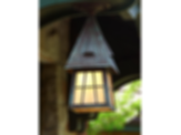 "European Country™ Lantern 6"" Wide Semi Flush Exterior Ceiling Light"