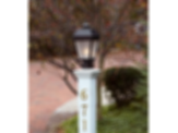 "Provincial™ Lantern 9"" Wide Exterior Post Light"