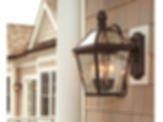 "London™ Lantern 10"" Wide Scrolled Arm Exterior Wall Light"