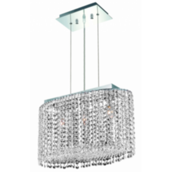1292 Moda Collection 3 Light Chandelier