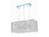 1291 Moda Collection 4 Light Chandelier