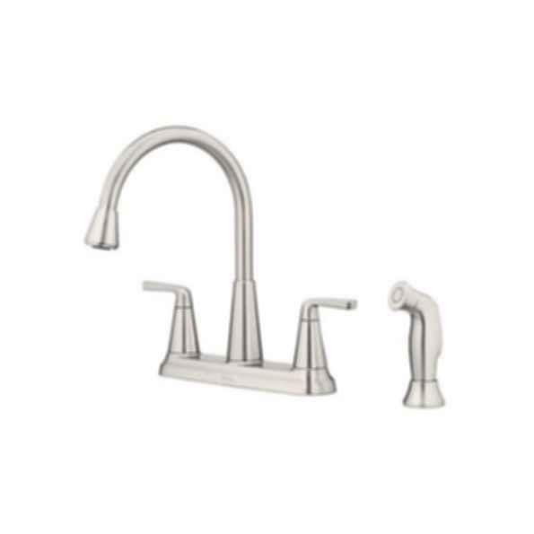 Allegan 2 Handle Kitchen Faucet Modlar Com