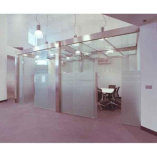 KT Glass Bi Passing Doors