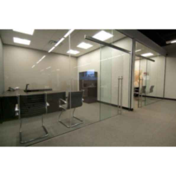 Unikair Single Fixed Glass Sliding Door