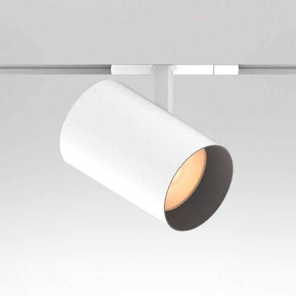 Movable Led Track Lighting: CT2-AD LED Track Mount Adjustable Lighting Fixture