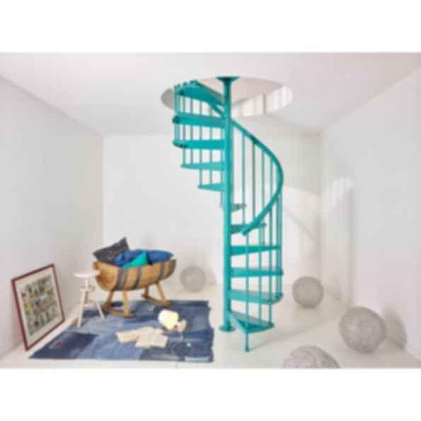 Clip Spiral Staircase