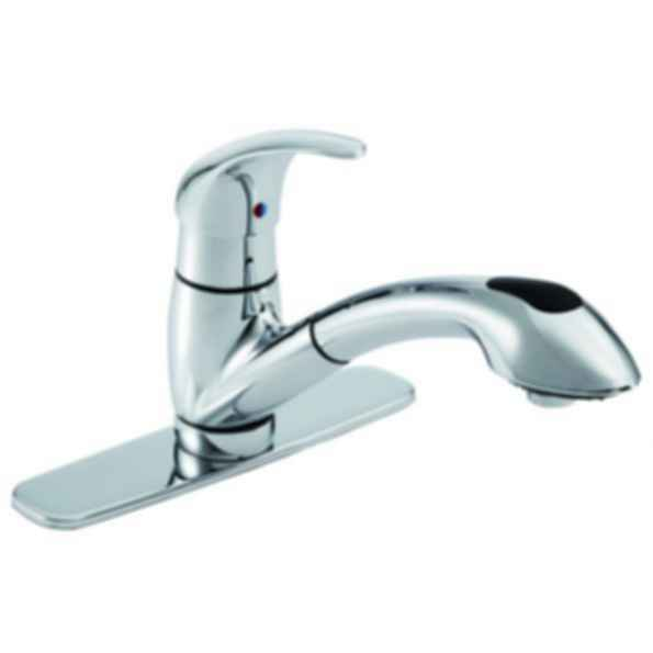 Viper™ Single Handle Pull-Out Kitchen Faucet