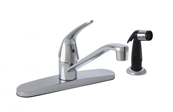 Maxwell 174 Se Single Handle Kitchen Faucet With Spray