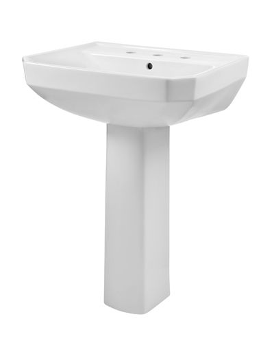 Viper 8 Centers Standard Pedestal Bathroom Sink