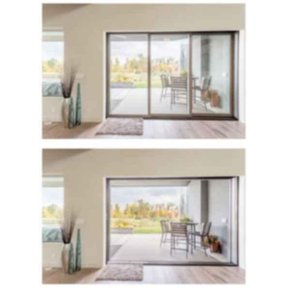 Pinnacle Clad Multi-Slide Patio Door