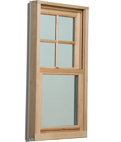 Windsor Revive Wood Clad Pocket Replacement Double Hung Windows