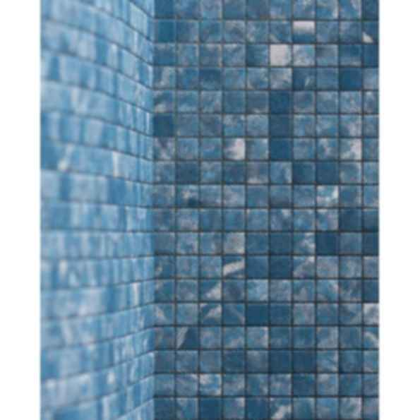 Fortuny Mosaics 1cm Fabric Mosaic in Nicolo
