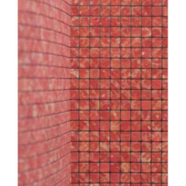 Fortuny Mosaics 1cm Fabric Mosaic in Canestrelli