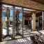 Architect Series® Traditional Wood Bifold Patio Door