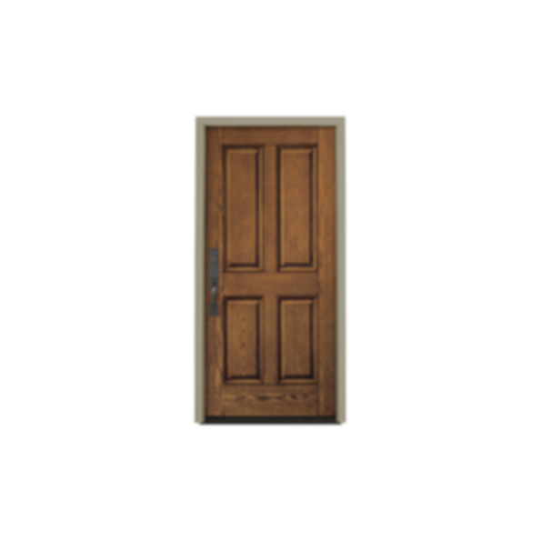 Architect Series® 4 Panel Entry Door Solid Panel