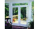Pella® 450 Series Wood Hinged Patio Door