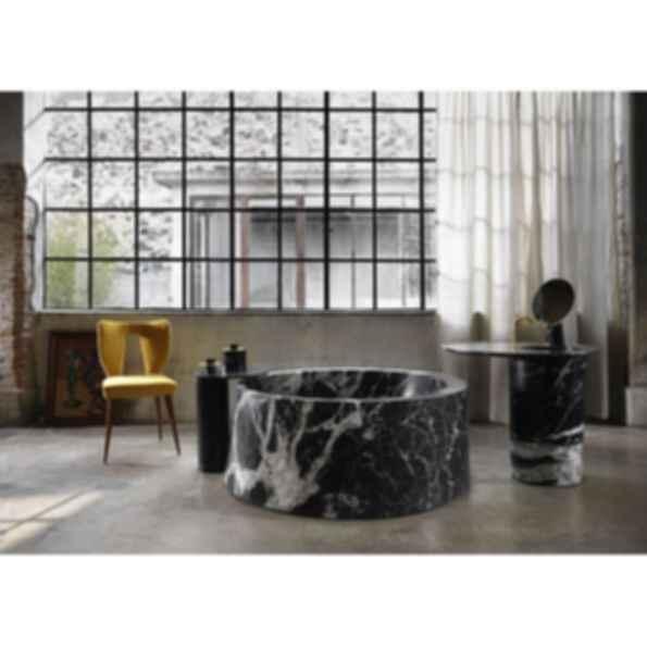 Desco Circle Marble Bathtub
