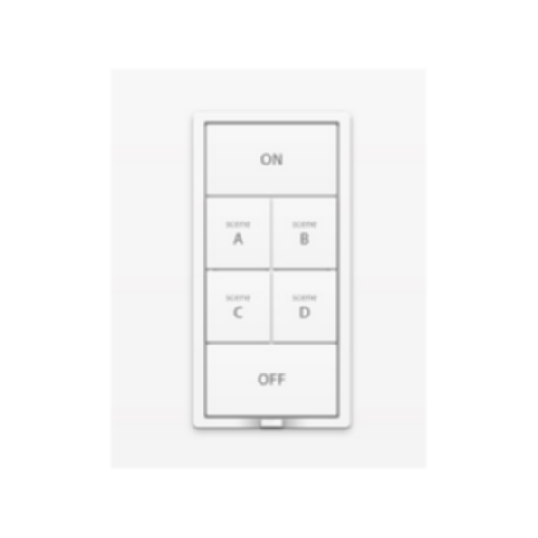 6-Button Dimmer Wall Keypad