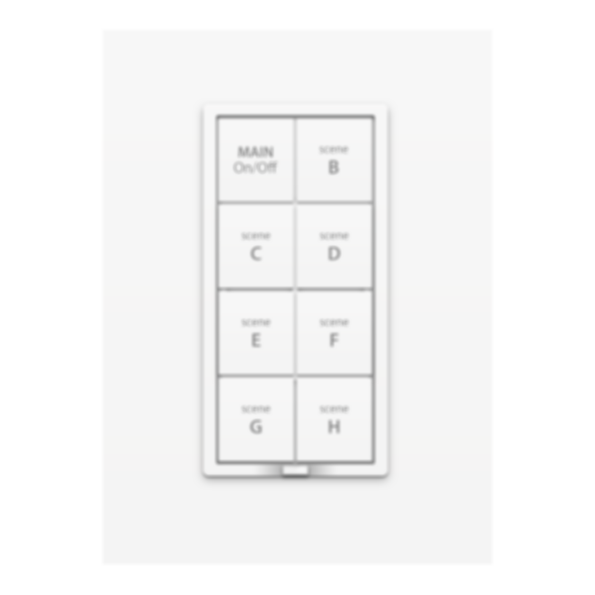 8-button on-off wall keypad