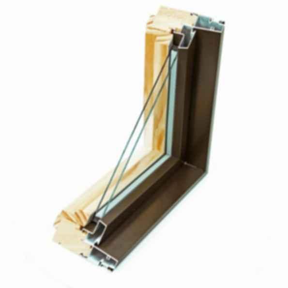 Pinnacle Clad Direct Set and Radius Windows