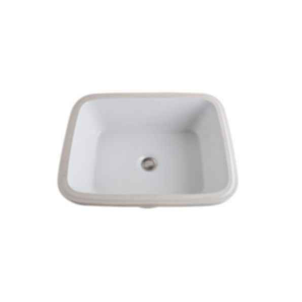 Allia Rectangular Undermount Lavatory Sink
