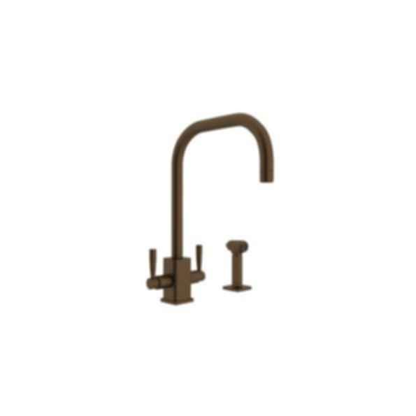 Perrin & Rowe Contemporary Single Hole U-Spout Kitchen Faucet
