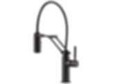 Solna® Single Handle Articulating Kitchen Faucet 63221LF