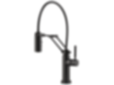 Solna® Single Handle Articulating Kitchen Faucet with SmartTouch® Technology 64221LF