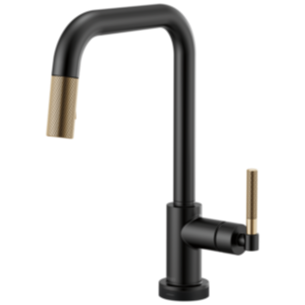 Litze™ SmartTouch® Pull-Down Faucet with Square Spout and Knurled Handle 64053LF