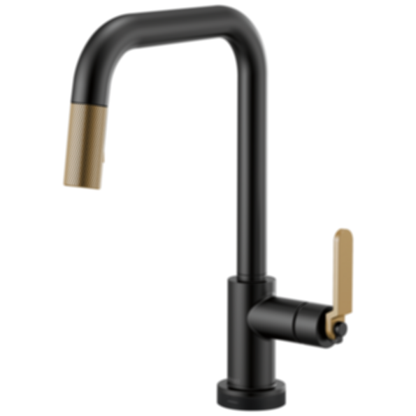 Litze™ SmartTouch® Pull-Down Faucet with Square Spout and Industrial Handle 64054LF