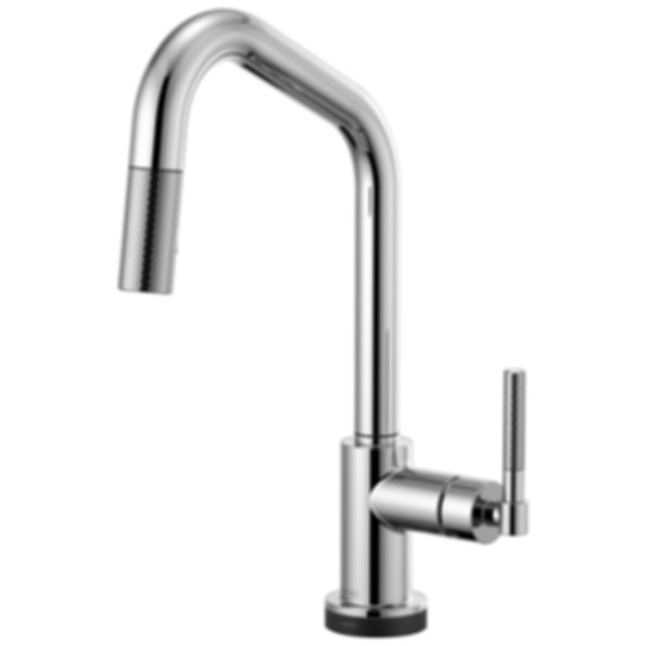 Litze™ SmartTouch® Pull-Down Faucet with Angles Spout and Knurled Handle 64063LF
