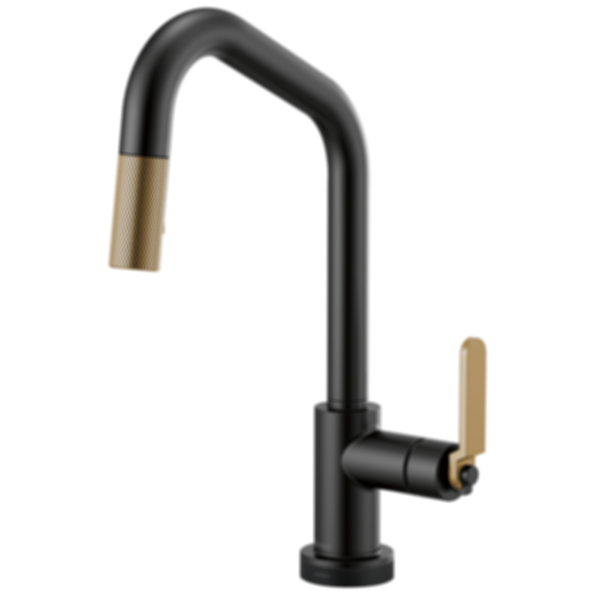 Litze™ SmartTouch® Pull-Down Faucet with Angled Spout and Industrial Handle 64064LF