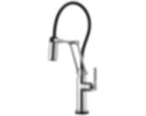 Litze™ SmartTouch® Articulating Faucet with Knurled Handle 64243LF